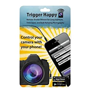 Trigger Happy E3 Remote Control for Various Canon and Pentax Digital Cameras