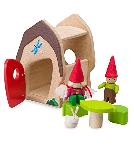 Gnome, Sweet Gnome Sustainable Wood Play Set, in Mushroom (Self Contained Doll House compare prices)