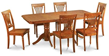7-Pc Wooden Traditional Dining Set