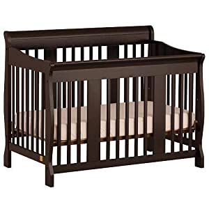 Stork Craft Tuscany 4-in-1 Stages Crib, Black