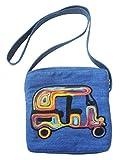 Juhi Malhotra Women's Sling Bag (Blue) (Model 5)
