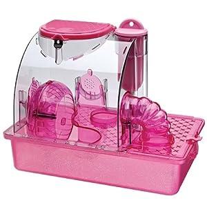 Penn Plax Pink Princess Hamster Cage - Small
