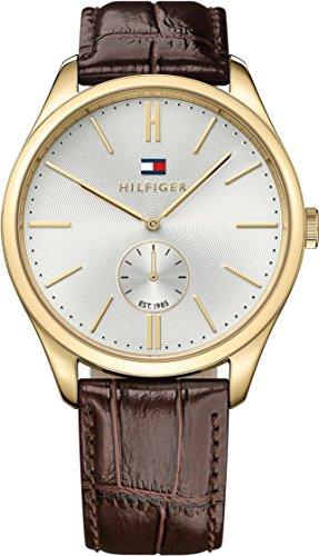 Tommy Hilfiger Herren-Armbanduhr Analog Quarz Leder 1791170 thumbnail