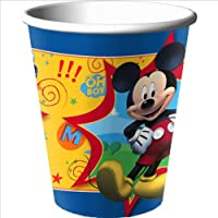 Disney Mickey Fun and Friends 9 oz. Paper Cups Party Accessory from HALLMARK *
