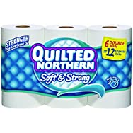 Quilted Northern Toilet Tissue-6ROLL QULTD NORTH TISSUE