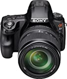 Sony Alpha SLT-A37M 16.1 MP Exmor APS HD CMOS Sensor DSLR with Translucent Mirror Technology and 18-135mm Lens (Black)
