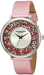 Stuhrling Original Women's 793.01 Vogue Analog Display Quartz Pink Watch