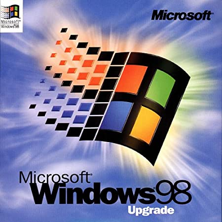 Microsoft Windows 98 retail UPGRADE 1st Edition