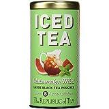 The Republic Of Tea Watermelon Mint Black Iced Tea, 8 Large Pouches / 8 Quarts