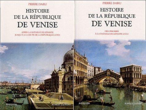 Histoire de la République de Venise (coffret 2 volumes)