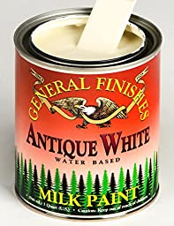 General Finishes Water Based Milk Paint Antique White Gallon