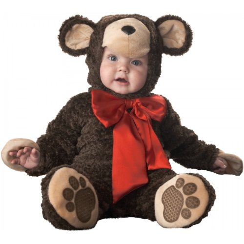 Lil' Teddy Bear Costume - Infant Large front-891712