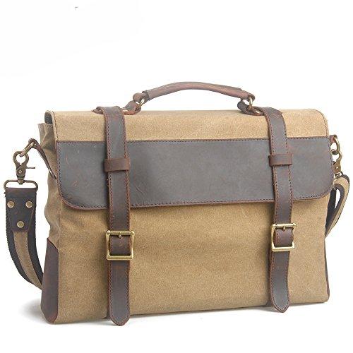 koson-man-unisex-vintage-literary-preppy-style-canvas-messenger-bag-outdoor-single-shoulder-bag-khak