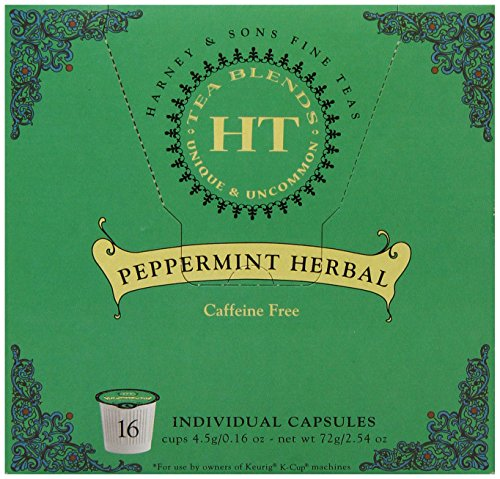 Harney And Sons Herbal Tea Capsules, Peppermint, 16 Count