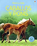 img - for CABALLOS Y PONIS - BUSCA Y PEGA book / textbook / text book