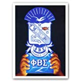 "Pride and Dignity - Phi Beta Sigma by Gerald Ivey 8""x10"" Art Print Poster"
