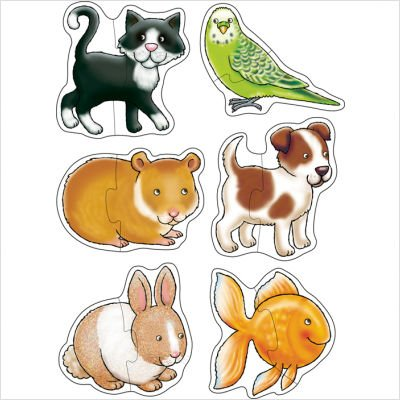 Picture of The Original Toy Company Pets Puzzle (B002OBMECA) (Pegged Puzzles)