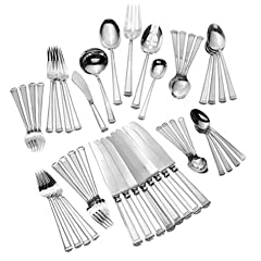 Tuttle la Preference Sterling Pantheon 46-Piece Continental-Size Flatware Set, Service for 8