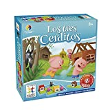 Smart Games - Los Tres Cerditos, juego educativo (Lúdilo SG019)