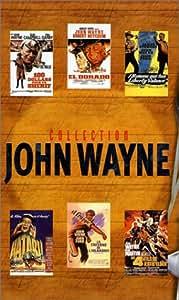 Coffret John Wayne : Les 4 fils de Katie Elder / 100 dollars pour un shérif / El Dorado / Hatari ! / L'Homme qui tua Liberty Valance / La Taverne de l'irlandais [VHS]