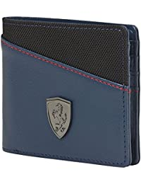 Puma Ferrari Blue Wing And Teal Women's Wallet (7394504)