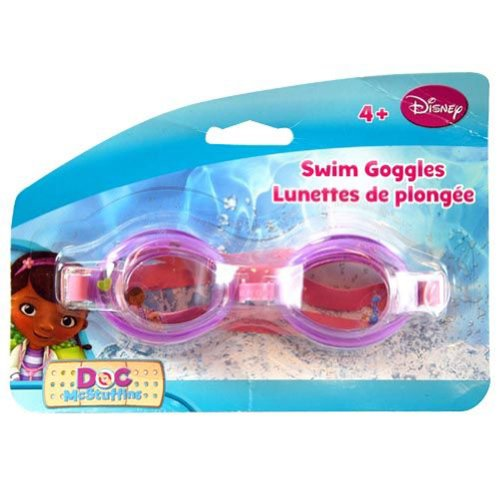 Kid's Licensed Character Swim Goggles (Doc McStuffins) - 1