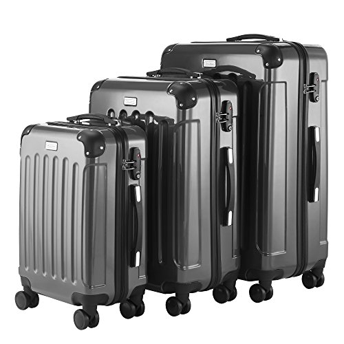 VonHaus-3-Pc-Extra-Strong-ABS-Luggage-Set-YKK-Zip-4-Double-Wheels