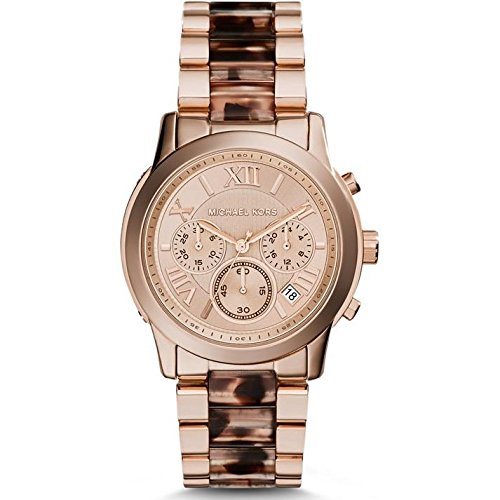 Michael Kors Watches Cooper Chronograph Stainless Steel Watch (Rose