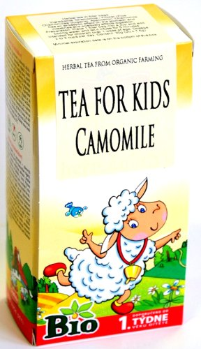 Chamomile Organic Tea for Babies from 1 week +