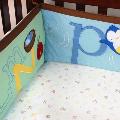 Alphabet Nursery Versatile Bumper - 1