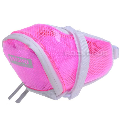 Woho Firefly Bicycle Saddle Seat Bag Road Bike Mtb Fixed Gear Fixie Pink Size L