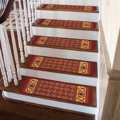 Brylanehome Oriental Rug Stair Treads