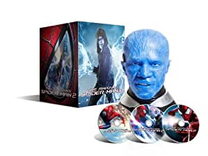 The Amazing Spider-Man 2 : le destin d'un Héros - Blu-ray 3D + Blu-ray + DVD - Coffret collector tête d'Electro  - Edition limitée exclusive Amazon.fr