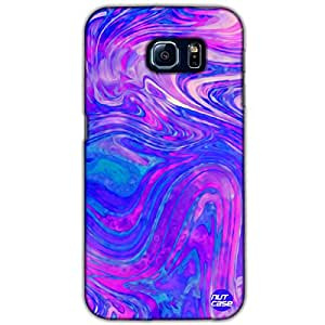 Designer Samsung Galaxy S6 G9200 Nutcase Case Cover - Oil Slick Colorful