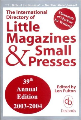Image for The International Directory of Little Magazines and Small Presses, 39th Edition, 2003-2004