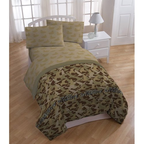 Full Size Camo Bedding