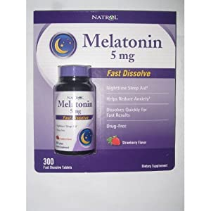 Natrol - Melatonin 5mg 300 Tablets