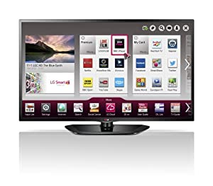LG 50LN575V 50-inch Widescreen 1080p Full HD Smart LED TV with Built-In Wi-Fi/Freeview HD