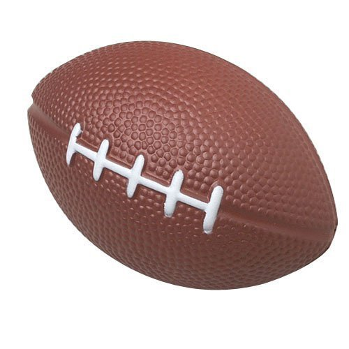 Dozen Foam 4-inch Mini Football Stress Balls