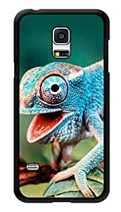 """Humor Gang Chameleon Printed Designer Mobile Back Cover For """"Samsung Galaxy S5"""" (3D, Glossy, Premium Quality Snap On Case)"""