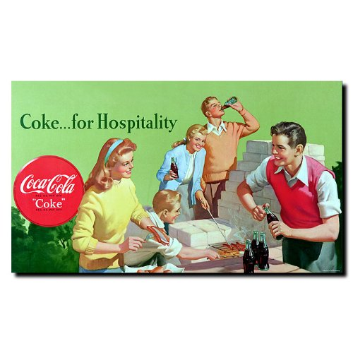 Trademark Fine Art Coke For Hospitality 14X24-Inch front-666798
