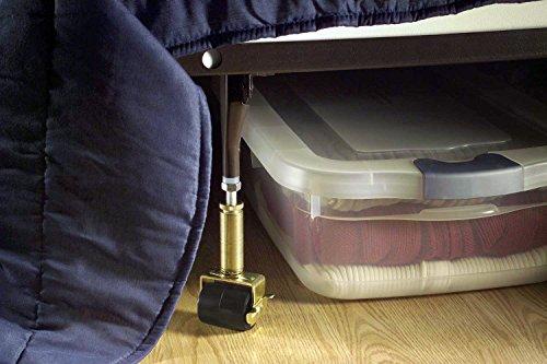 shepherd hardware 9532 6 inch adjustable bed risers 2 pack new ebay. Black Bedroom Furniture Sets. Home Design Ideas