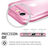 iPhone 6S Plus Case, Voorm® [Ultra Thin Liquid Gel Skin Capsule] Soft Lightweight Transparent 6 6S Perfect-Fit Full-Protection Cover Slim Flexible TPU [5.5 inch] Frosted Rose Gold Clear - Pink Panther