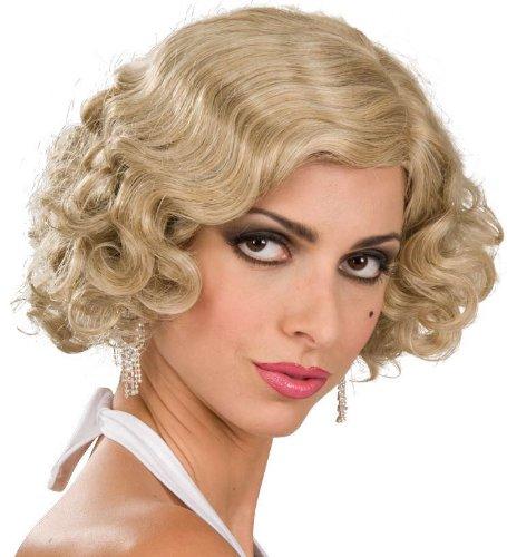 Blonde Flapper Girl Wig
