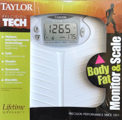 Image of Taylor Precision Tech Body Fat Monitor & Scale (B002HC38VM)