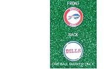 Buffalo Bills NFL Double Sided Ball Single Marker Only