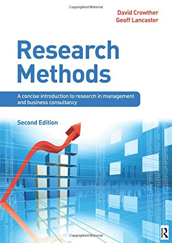 Research Methods: A concise introduction to  research in management and business consultancy