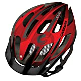 Carrera E0444 Shake MTB Helmet Rear Light - Blood Red, 54-57 cm
