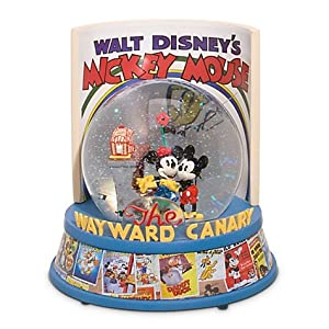 Disney Exclusive Wayward Canary Snow Globe from Disney