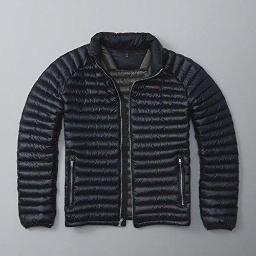 (アバクロンビー & フィッチ) Abercrombie & Fitch ダウンジャケット Ultra Lightweight Puffer Jacket - Navy M [並行輸入品]
